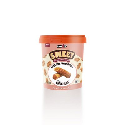 Pasta de Amendoim Sweet sabor Churros 500g - Power One