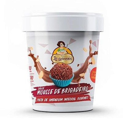 Pasta de Amendoim sabor Mousse de Brigadeiro 450g - La Ganexa