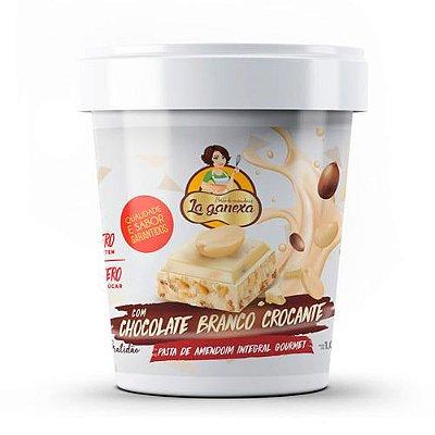 Pasta de Amendoim com Chocolate Branco Crocante 450g - La Ganexa