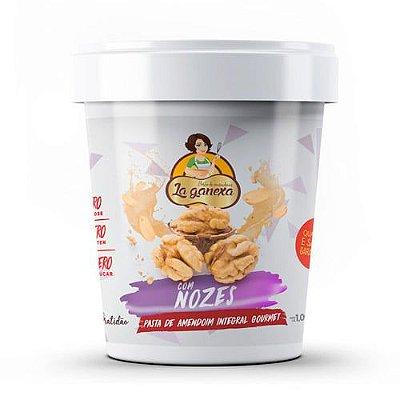 Pasta de Amendoim com Nozes 450g - La Ganexa