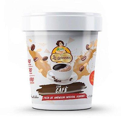 Pasta de Amendoim com Café  450g - La Ganexa