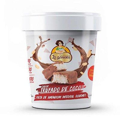 Pasta de Amendoim sabor Trufado de Coco 450g - La Ganexa
