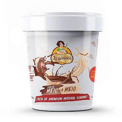 Pasta de Amendoim sabor Meio a Meio 450g - La Ganexa