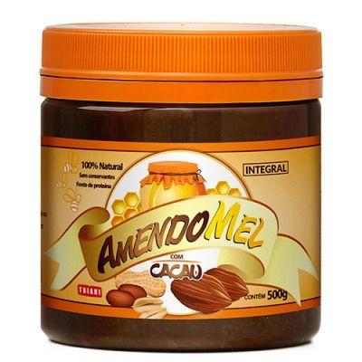 Pasta de Amendoim Amendomel com Cacau 500g - Thiani