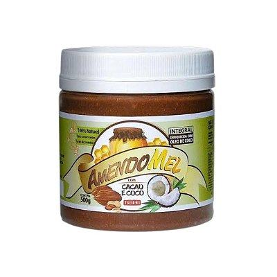 Pasta de Amendoim Amendomel com Cacau e Coco 500g - Thiani
