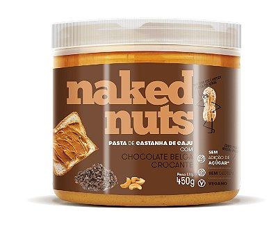 Pasta de Castanha de Caju com Chocolate Belga Crocante  450g - Naked Nuts