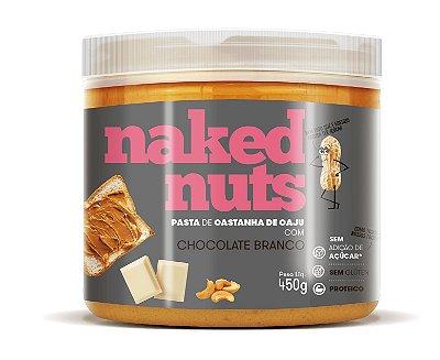 Pasta de Castanha de Caju com Chocolate Branco  450g - Naked Nuts
