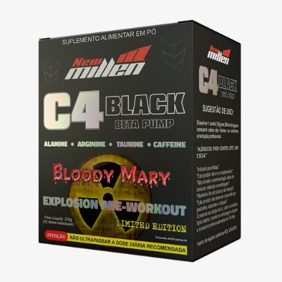 C4 Black Beta Pump 22 sticks - New Millen