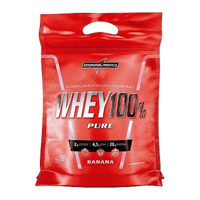 Whey Concentrado Whey 100% Pure 907g - Integralmédica