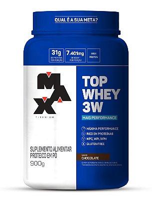 Top Whey 3W Mais Performance - Max Titanium
