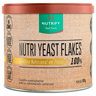Levedura Nutricional Nutri Yeast Flakes 100g - Nutrify
