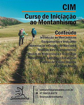 CIM - Curso de Iniciação ao Montanhismo