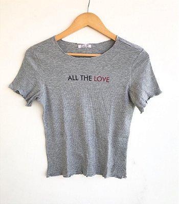 Tee pontinho All The Love - Acalmar-se
