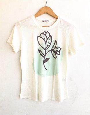 tee classic flor - Acalmar-se