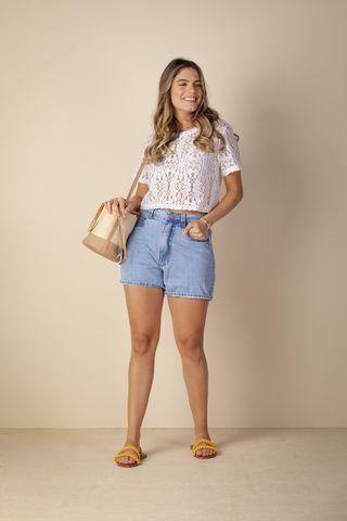Short  Jeans - Acalmar-se