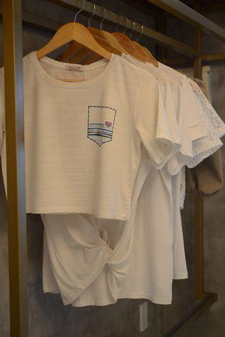 Cropped luxo bolso - Ser Mar