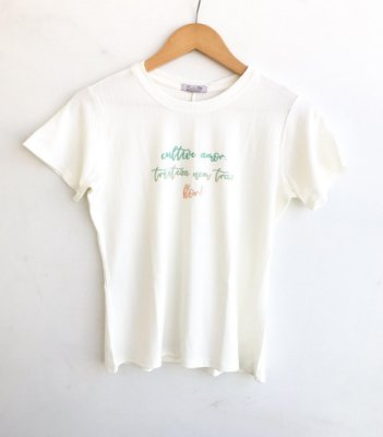 Tee luxo Cultive Amor - Serena