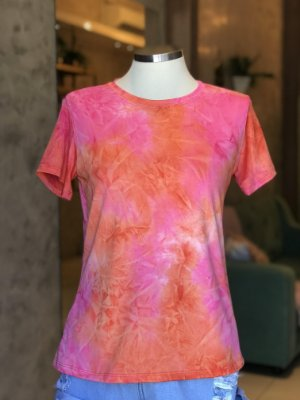 Tee luxo Tie Dye - Energia boa