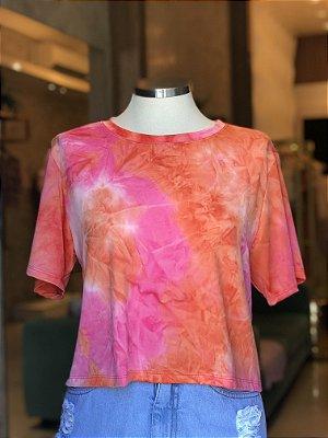 Cropped luxo Tie Dye - Energia boa