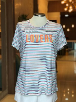 Tee luxo Lovers - AMAR