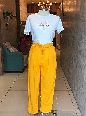 Calça Amarela - Por Onde For