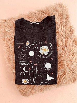 Tee luxo Floral Galaxy - Summer