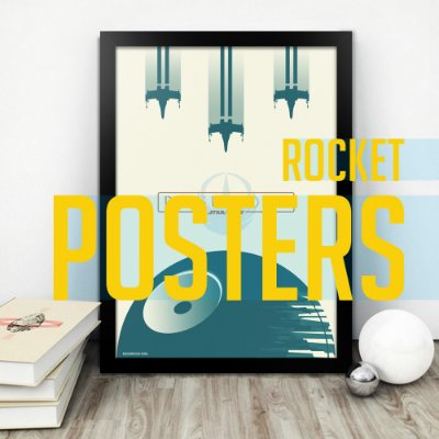 ROCKET POSTERS