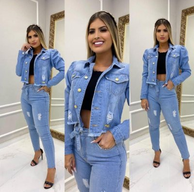 Conjunto Jeans Monique