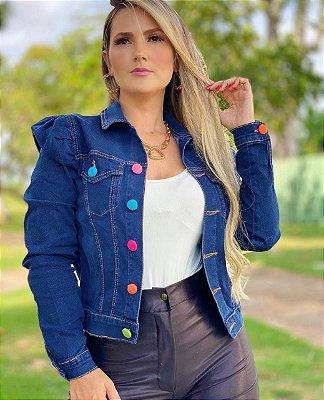 Jaqueta jeans Color Mariana