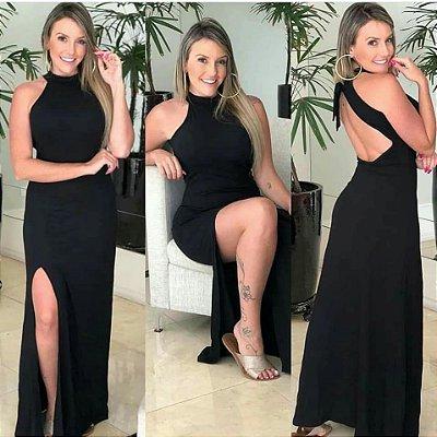 Vestido Raissa Fendas