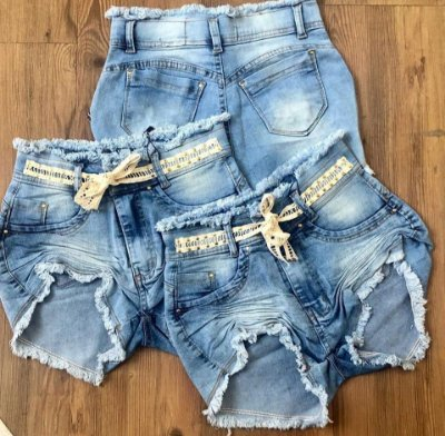 Shorts Jeans Clochard Karina
