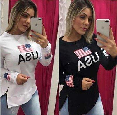 Blusa de Moletom U.S.A