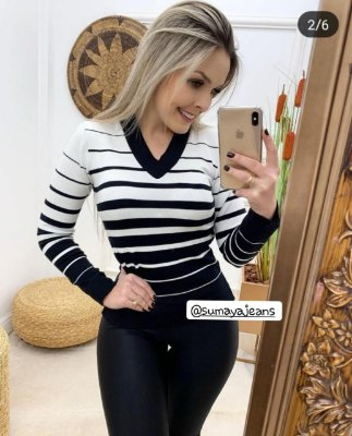 Blusa Tricô Mirela