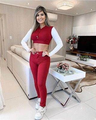 Calça Jeans Color Vanessa
