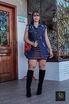 Colete Jeans Sabrina