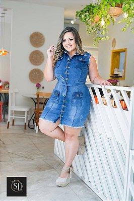 Vestido Jeans Botões Karina