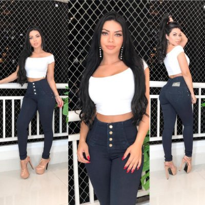 Calça Jeans Super Alta