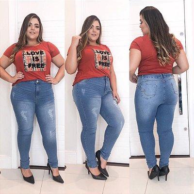 Calça Jeans Mônica