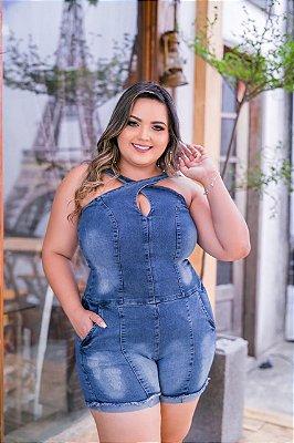Macação Jeans Jessica