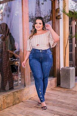 Calça Jeans Plus Size Lola