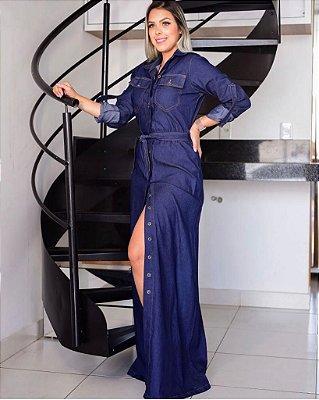 Vestido Jeans Mônica