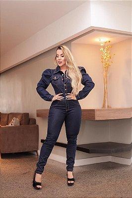 Macacão Jeans Beatriz