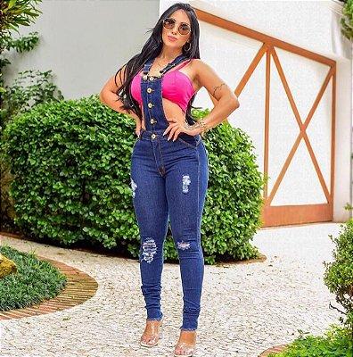 Macacão Jeans Flávia