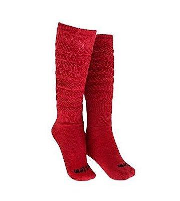 Meia Aeróbica Vermelha - Vestem