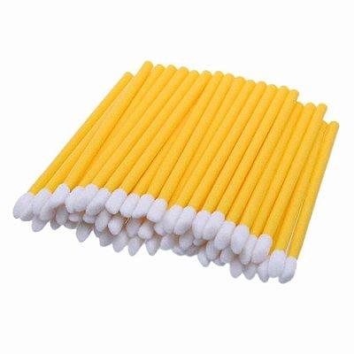 Aplicador de Gloss 50un Amarelo