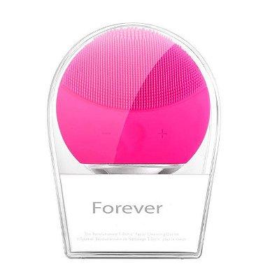 Esponja Elétrica de Limpeza Facial Forever Pink