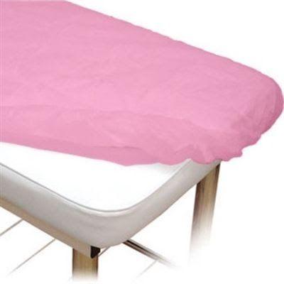 Lençol Descartável Protdesc c/ elástico Rosa 10un