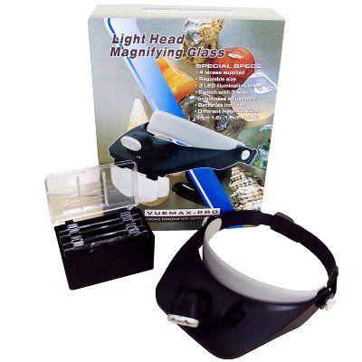 Lupa de Pala Vuemax-Pro 3 Lâmpadas