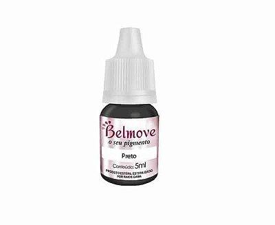 Pigmento Belmove 5ml Preto