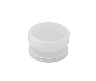 Pote Plástico Redondo Natural 30g